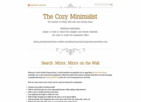 cozyminimalist.blogspot.com