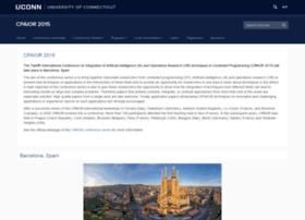 cpaior2015.uconn.edu