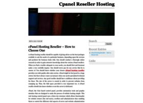 cpanelhostingreseller.wordpress.com
