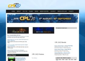 cplt20cricket.com
