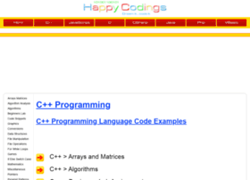 cplusplus.happycodings.com