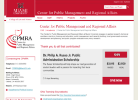 cpmra.muohio.edu