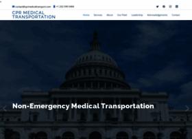 cprmedicaltransport.com