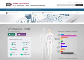 cptac-data-portal.georgetown.edu