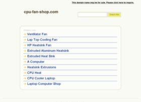 cpu-fan-shop.com