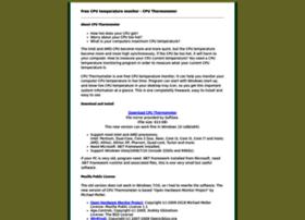 cputhermometer.com