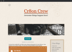cr8oncrew.edublogs.org
