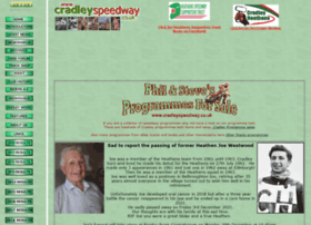 cradleyspeedway.co.uk