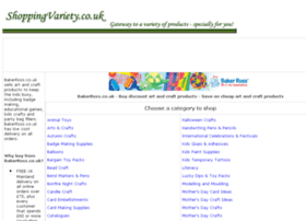 craft-educational-products.shoppingvariety.co.uk