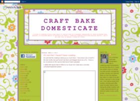 craftbakedomesticate.blogspot.com