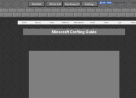 crafting.minecraftx.org
