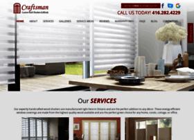 craftsmanshutter.com