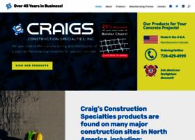 craigsconstructionspecialties.com