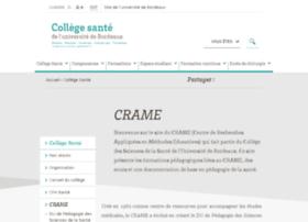 crame.u-bordeaux2.fr