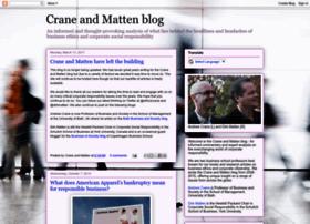 craneandmatten.blogspot.com.ar