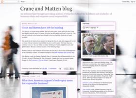 craneandmatten.blogspot.se