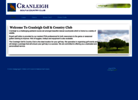 cranleigh.intelligentgolf.co.uk
