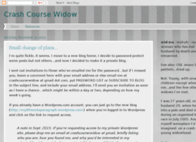 crashcoursewidow.blogspot.com