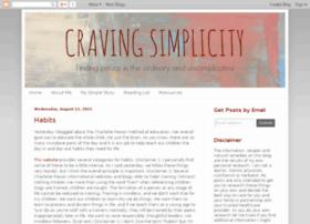 cravingsimplicity.com