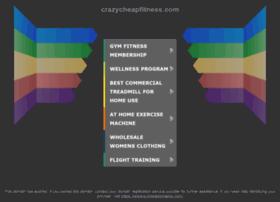 crazycheapfitness.com