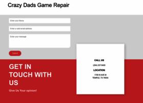 crazydadsgamerepairs.com