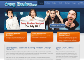 crazyheaders.com