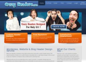 crazyheaders.com