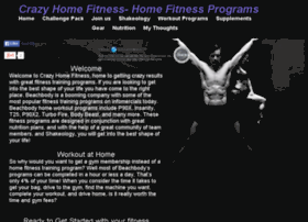 crazyhomefitness.com