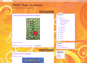 crazyhugegiveaways.blogspot.com