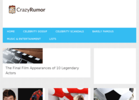 crazyrumor.com