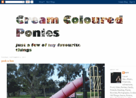 creamycolouredponies.blogspot.com