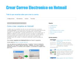 crearcorreoelectronicoenhotmail.com