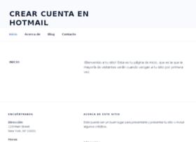 crearcuentaenhotmail.com