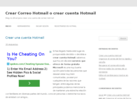 crearcuentahotmail.info