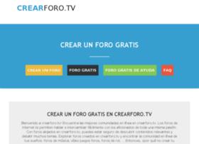 crearforo.tv
