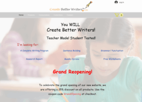 createbetterwriters.com