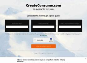 createconsume.com