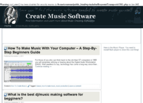 createmusicsoftware.com