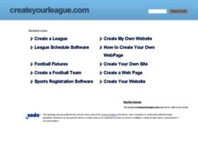 createyourleague.com