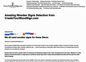createyourwoodsign.com