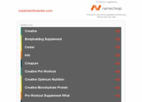 creatineinfocenter.com