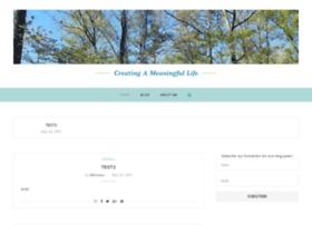 creatingameaningfullife.com