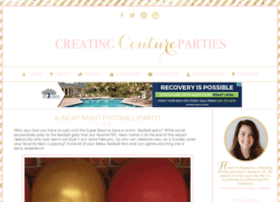 creatingcoutureparties.com