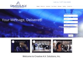 creativeavsolutions.com