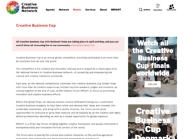creativebusinesscup.com
