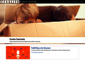 creativeeducator.tech4learning.com