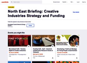 creativeindustriesstrategyandfundingcpfcnortheast.eventbrite.co.uk