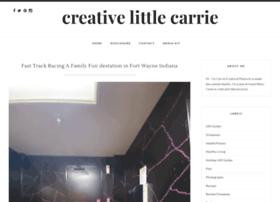 creativelittlecarrie.blogspot.com
