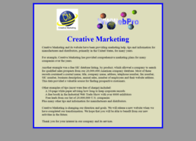 creativemarketing.com