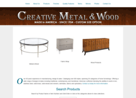 creativemetalwood.com